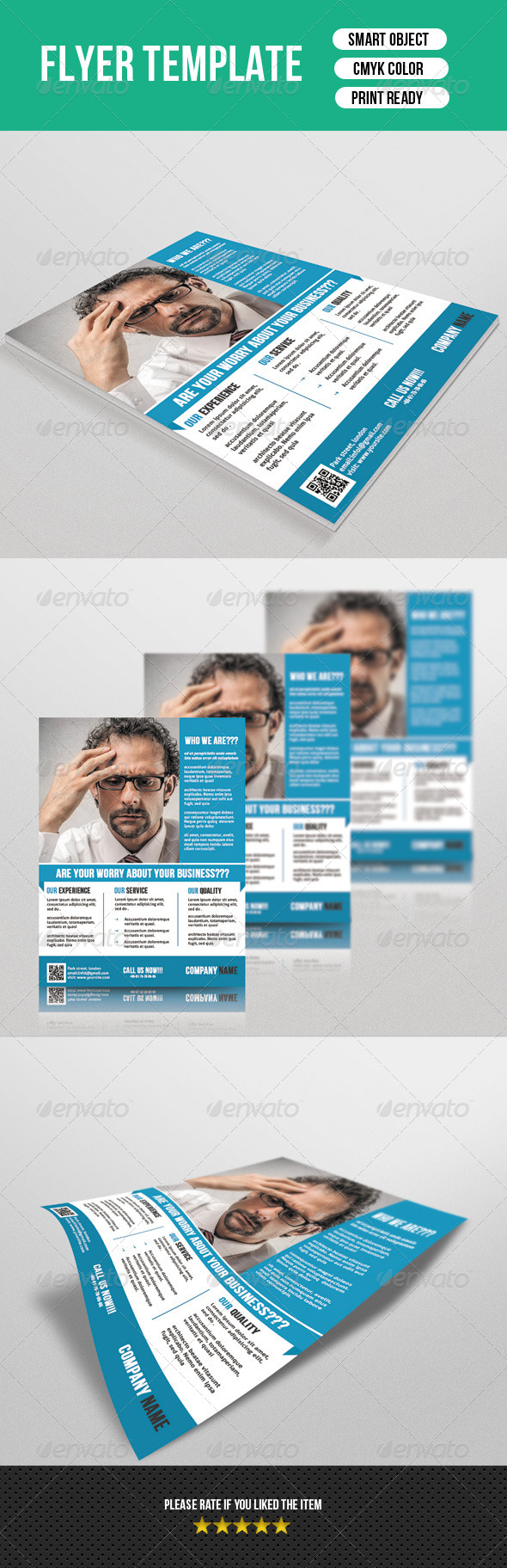 GraphicRiver Corporate Flyer Template 7362220