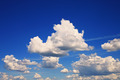 Photo of the sky with fluffy cumulus clouds - PhotoDune Item for Sale