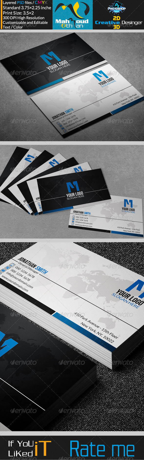GraphicRiver Corportae Business Card V06 7362532