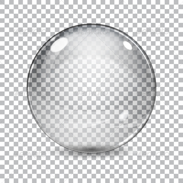GraphicRiver Transparent Glass Sphere 7362654