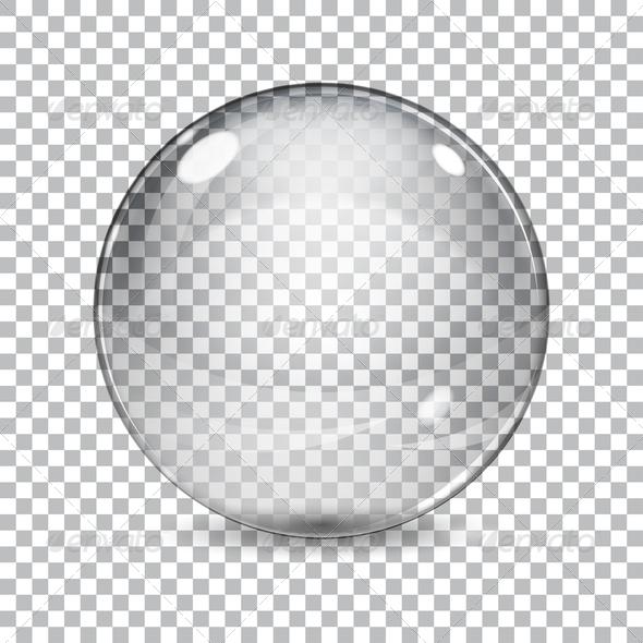 GraphicRiver Transparent Glass Sphere 7362654