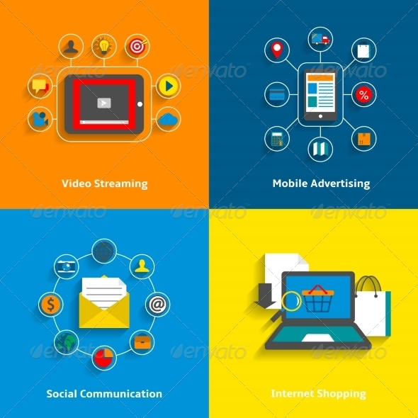 GraphicRiver E-Commerce Icons Set 7362892