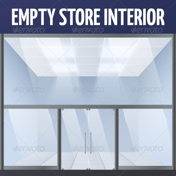 GraphicRiver Empty Store Interior 7362908