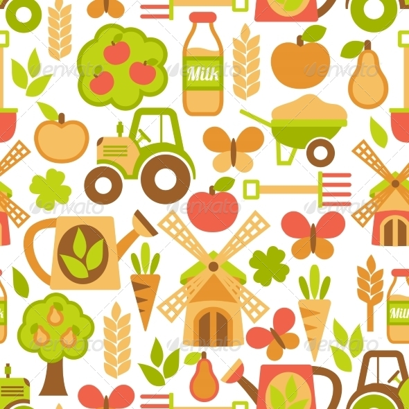 GraphicRiver Agriculture Seamless Pattern 7362928