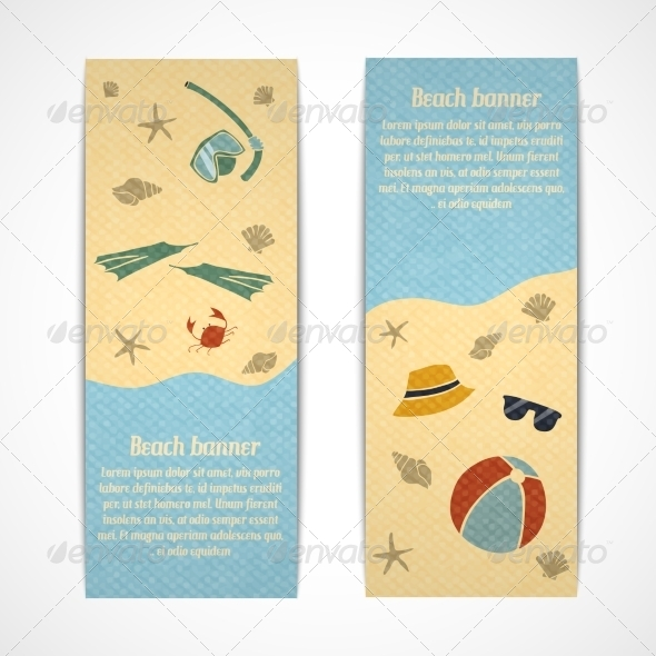 GraphicRiver Summer Vacation Vertical Banners 7362988