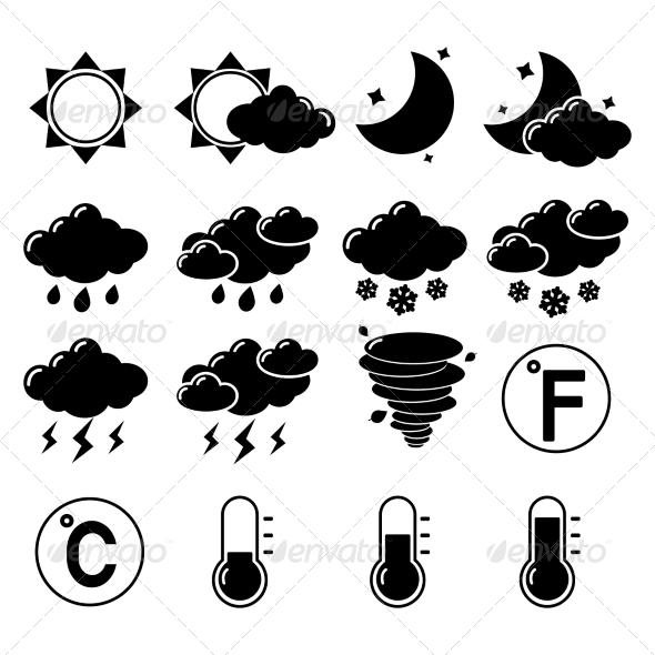 GraphicRiver Weather Icons Set 7363184