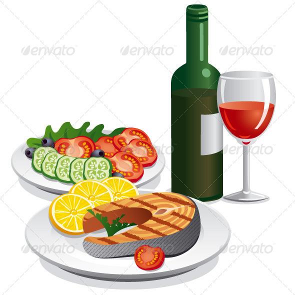 GraphicRiver Dinner 7347334