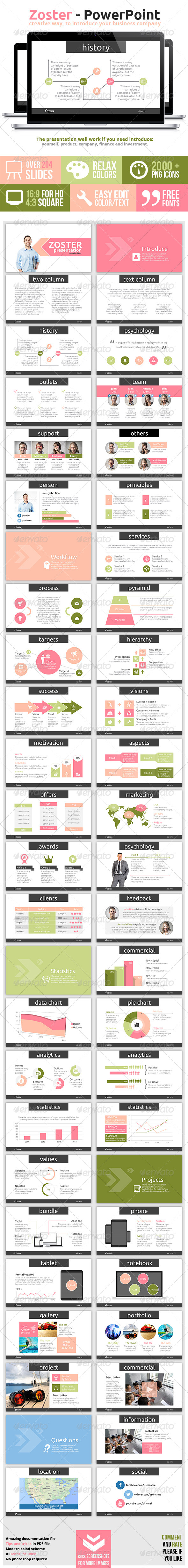 GraphicRiver Zoster Powerpoint Presentation 7363622