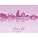 San Jose Skyline - GraphicRiver Item for Sale
