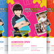 Child Development School Flyer Template - GraphicRiver Item for Sale