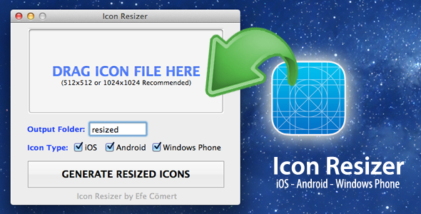 CodeCanyon Mobile Icon Resizer Mac 7364542