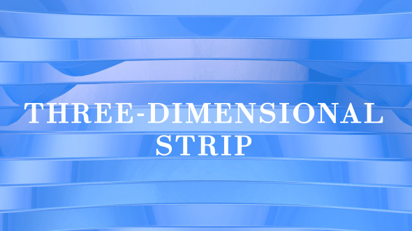VideoHive 3D Strip 7364798