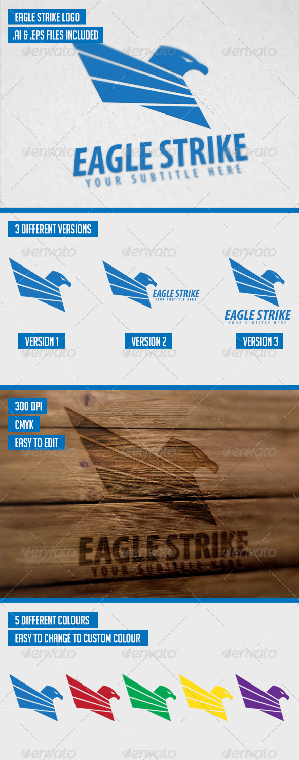 GraphicRiver Eagle Strike Logo 7333025