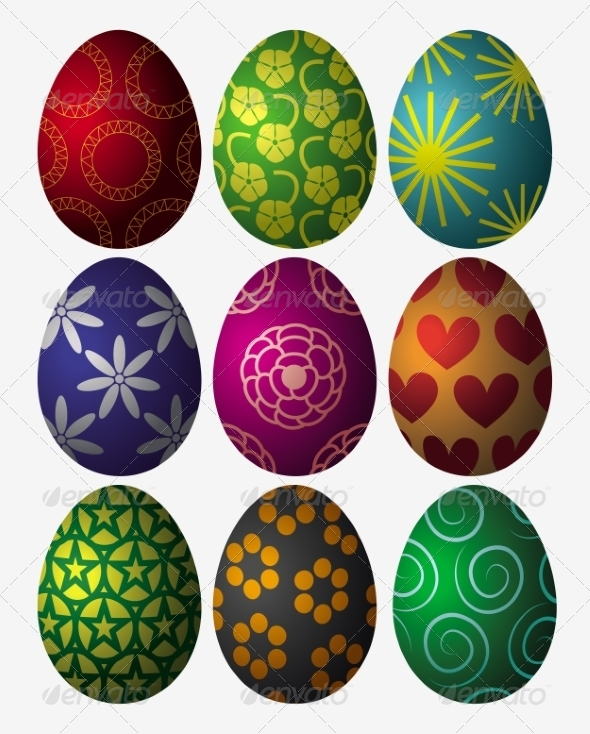 GraphicRiver Easter Eggs 7364801
