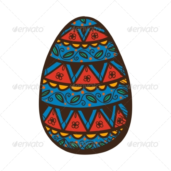 GraphicRiver Egg with Pattern 7364912
