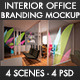 Interior Office Branding Mockup - GraphicRiver Item for Sale