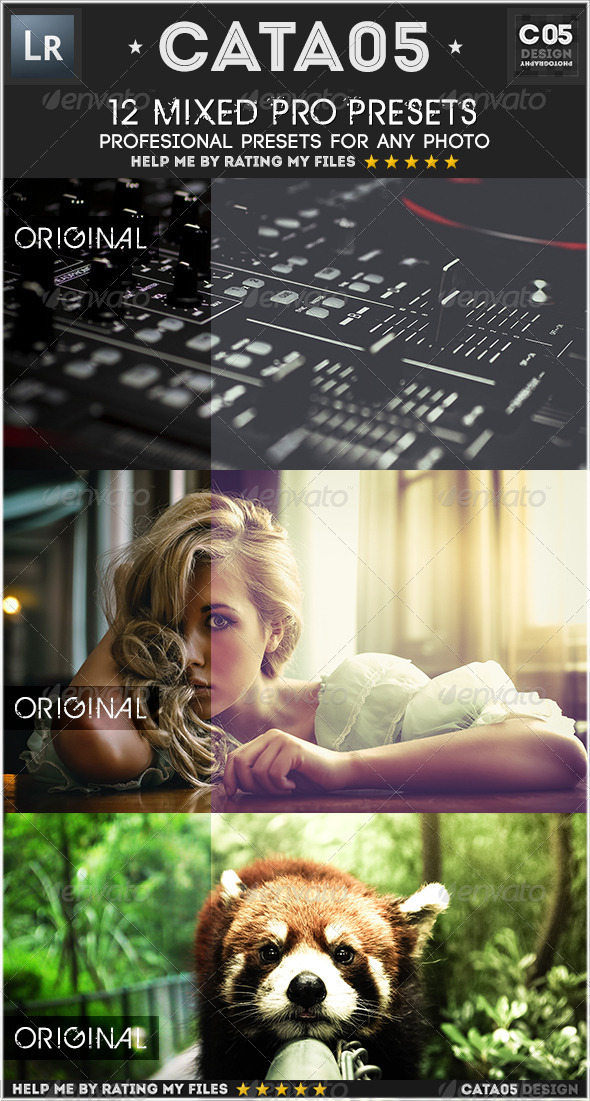 GraphicRiver 12 Mixed Pro Presets 7365696