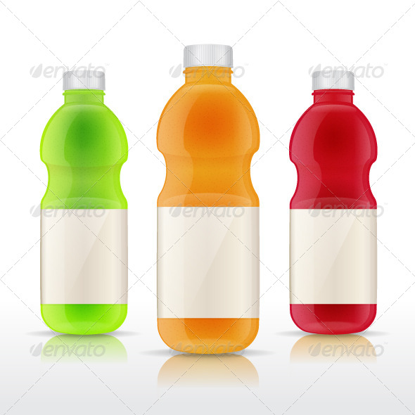 GraphicRiver Juice Bottles 7365712