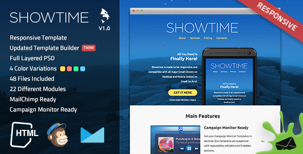 ThemeForest Showtime Responsive Email Template 7365741