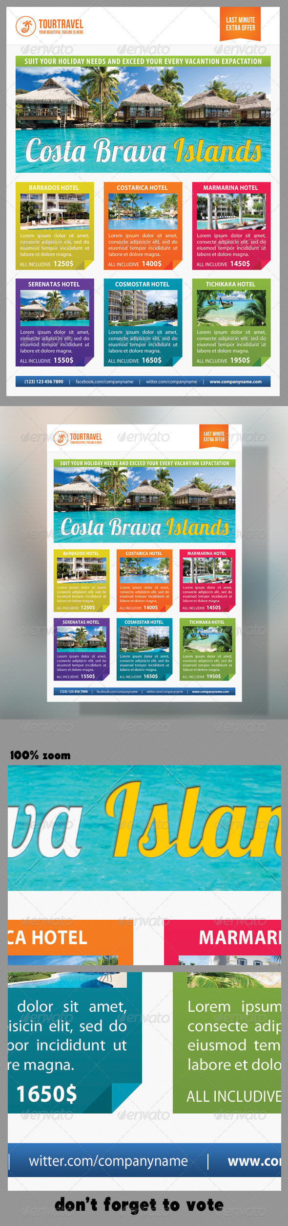 GraphicRiver Travel Agency Corporate Flyer 09 7365871