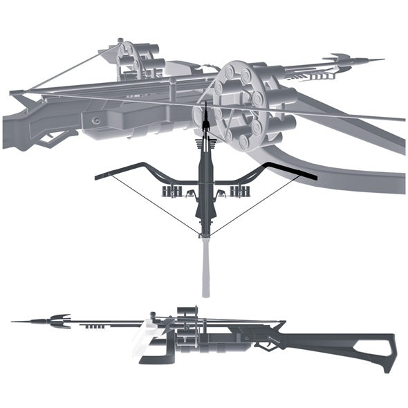 3DOcean Crossbow scorpion sting 7365882