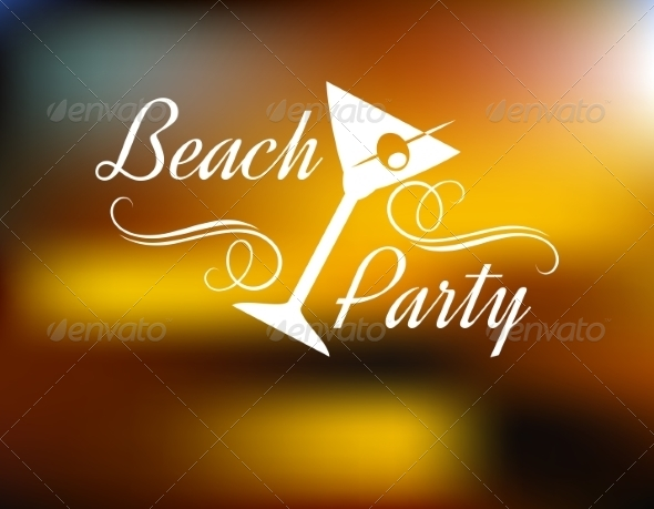 GraphicRiver Beach Party Poster 7365899