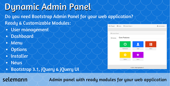CodeCanyon Dynamic Admin Panel 7258302