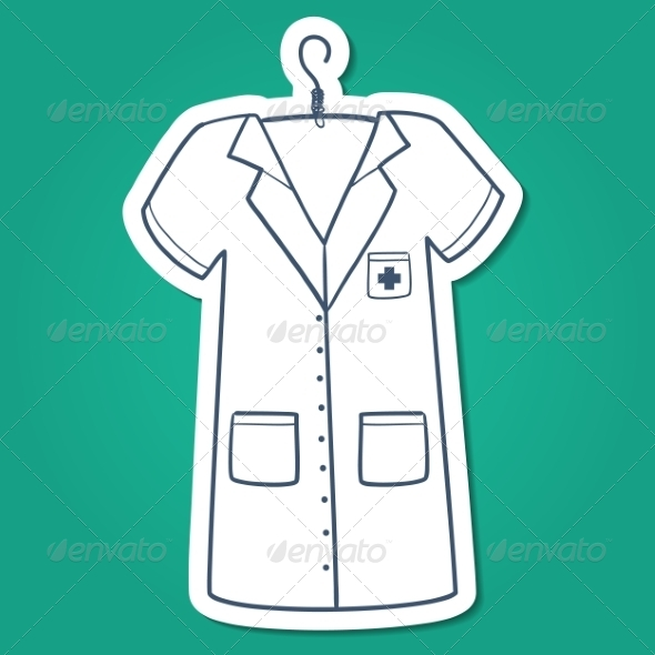 GraphicRiver Nurse Doctor or Other Medical Staff Uniform 7365919