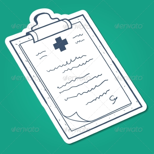 GraphicRiver Prescription Case History Card 7365928