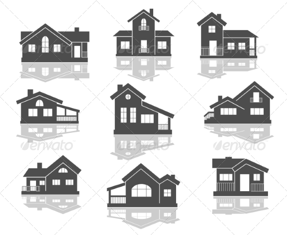 GraphicRiver House Icons Set 7366918
