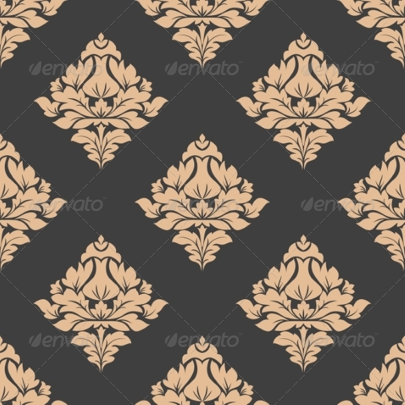 GraphicRiver Grey and Beige Seamless Pattern 7368709