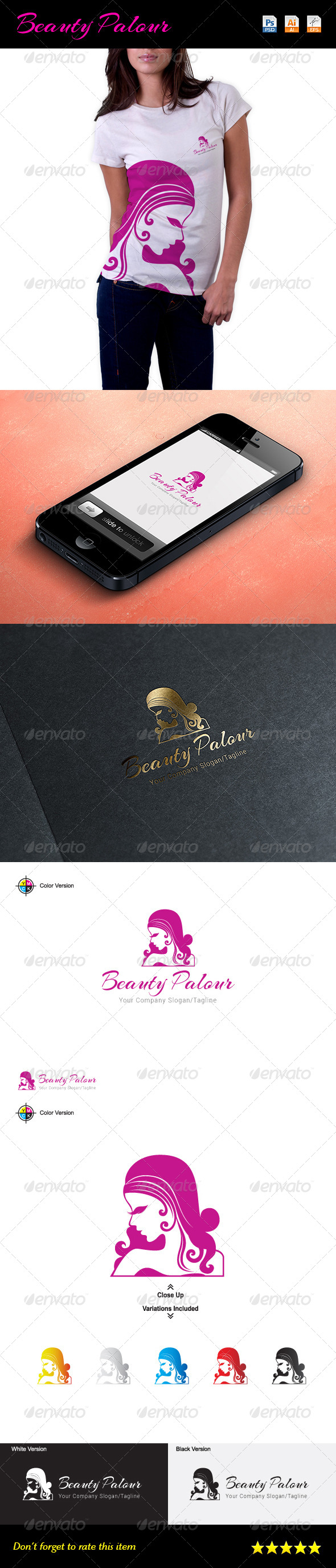 GraphicRiver Beauty Palour Logo 7368951