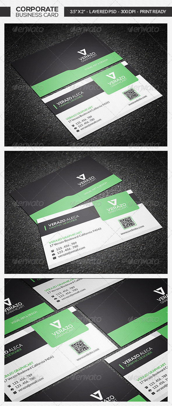 GraphicRiver Modern Business Card 18 7368954