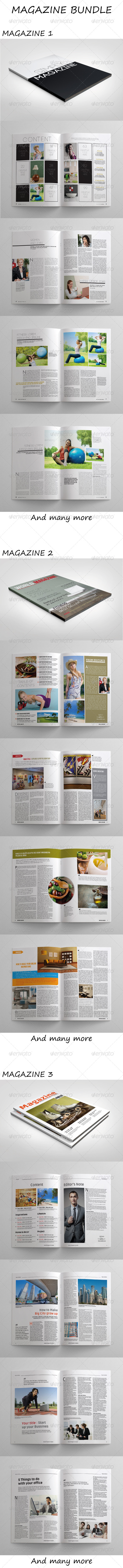 GraphicRiver Magazine Bundle 7369308