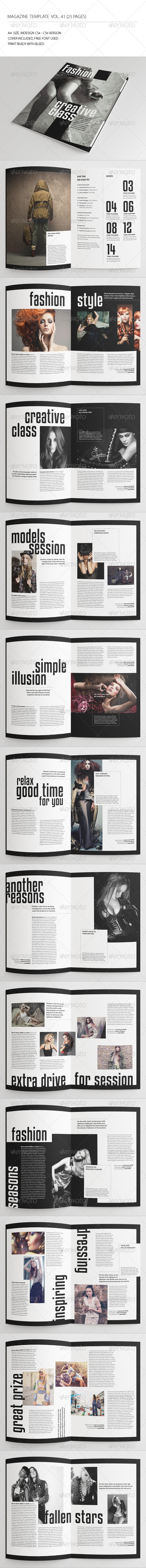 GraphicRiver 25 Pages Fashion Magazine Vol41 7369454