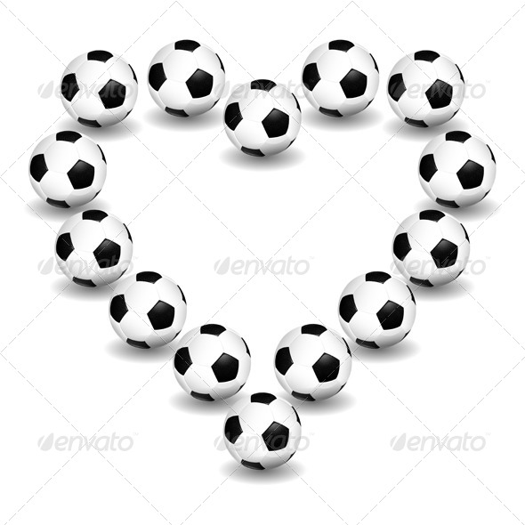 GraphicRiver Love for Soccer 7369799