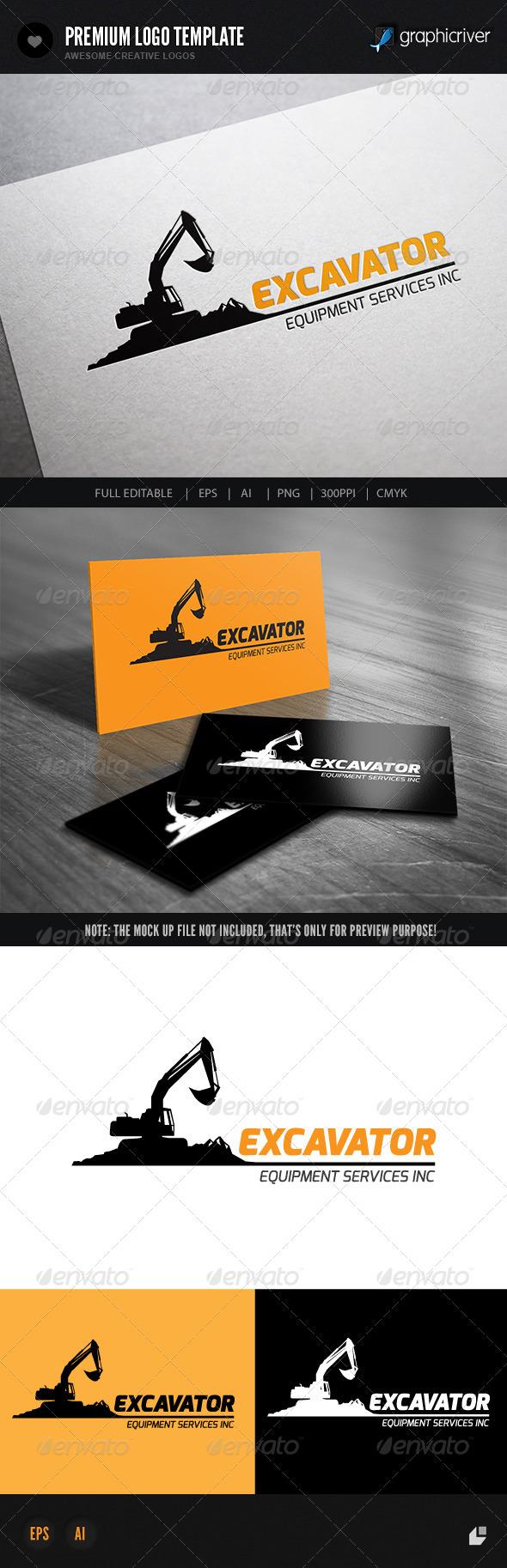 GraphicRiver Excavator II 7370288