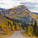 North Klondike Highway golden taiga Yukon Canada - PhotoDune Item for Sale