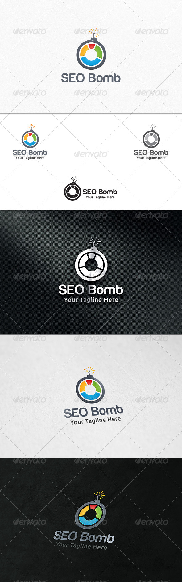 GraphicRiver SEO Bomb Logo Template 7371053