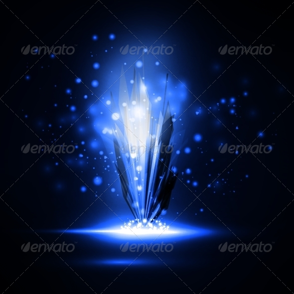 GraphicRiver Abstract Magic Crystal 7371140