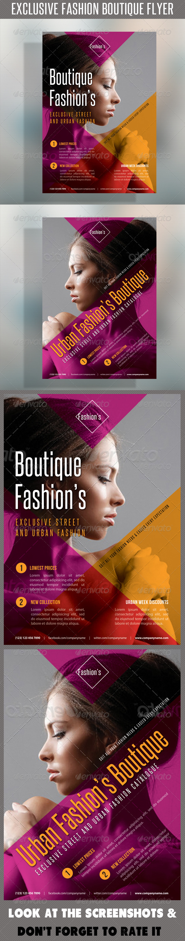 GraphicRiver Fashion Product Flyer 46 7371248