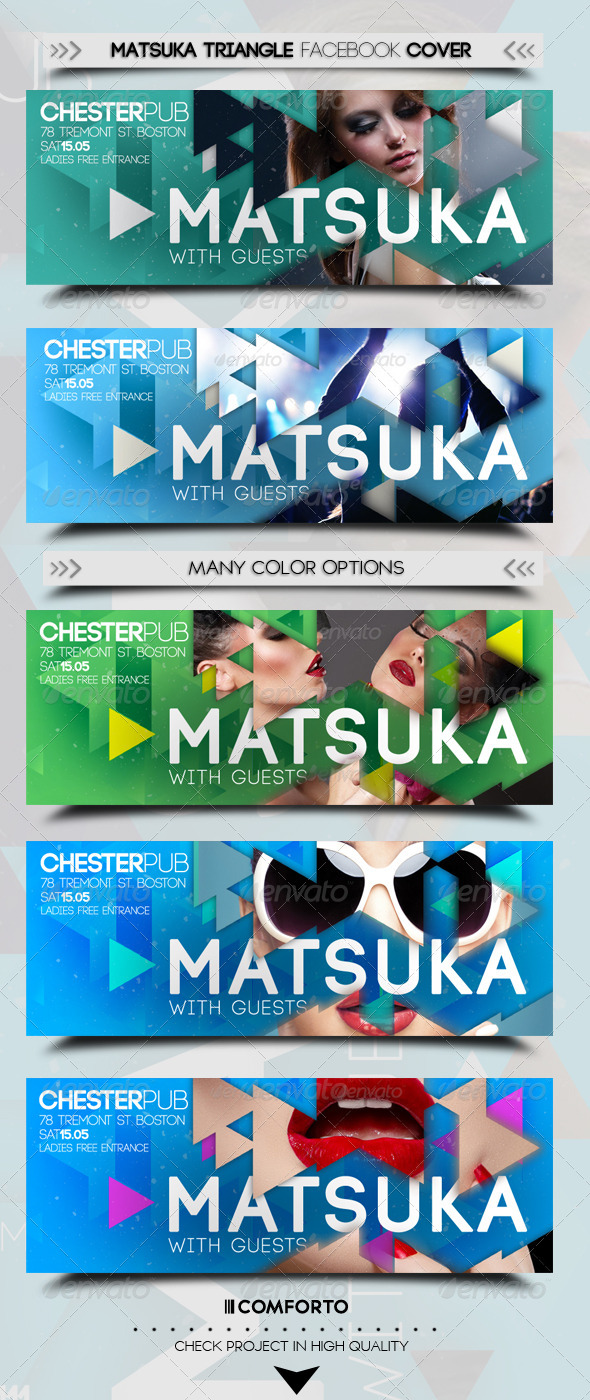 GraphicRiver Matsuka Triangle Fb Cover 7371367