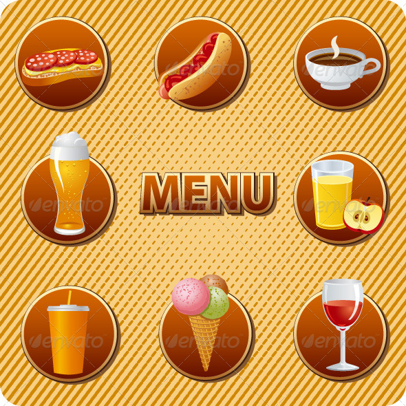 GraphicRiver Food and Drinks Menu 7371468