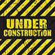 Grunge Under Construction Background - GraphicRiver Item for Sale