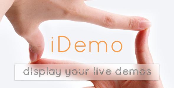 CodeCanyon iDemo 7304376