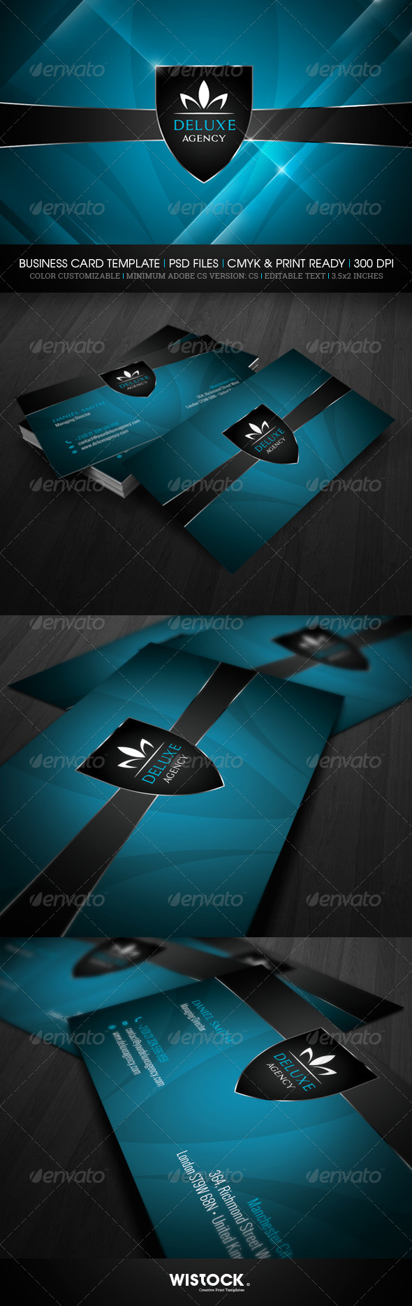 GraphicRiver Deluxe Agency Business Card 7346712