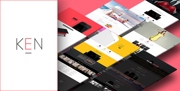 ThemeForest The Ken Multi-Purpose Creative WordPress Theme 7281173