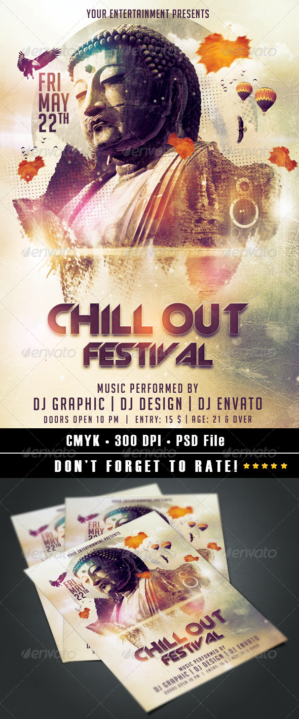 GraphicRiver Chill Out Festival 7372275