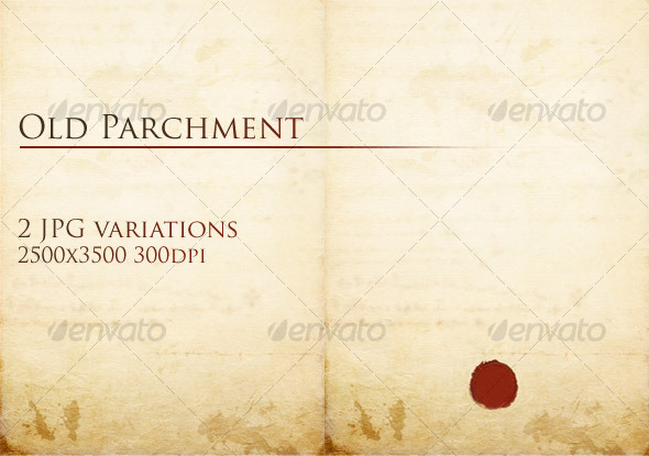 GraphicRiver Old Parchment 31296