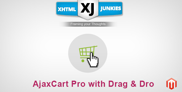 CodeCanyon AJAX Cart Pro With Drag & Drop 7373044